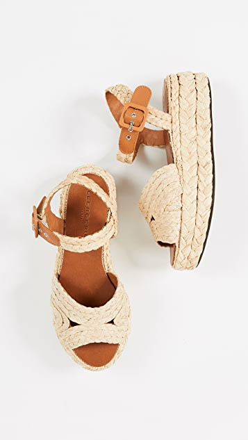 Clergerie Aude Flatform Sandals