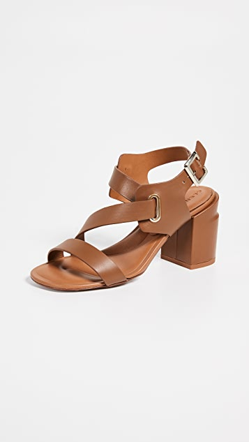 Clergerie Alba Sandals - Papaya