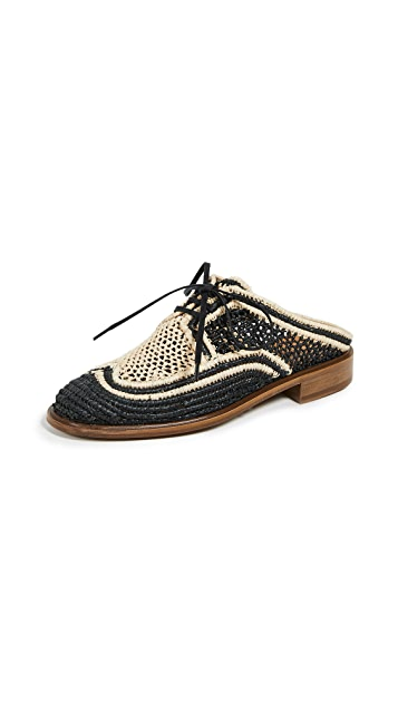 Clergerie Jaly Oxford Mules