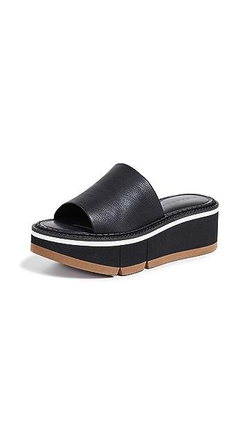 Clergerie Affect Platform Slide Sandals