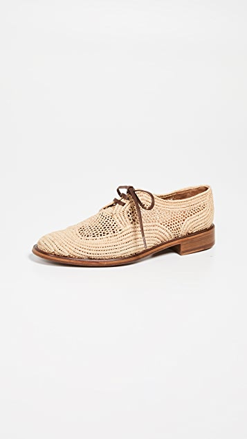 Clergerie Japaille 2 Oxfords - Natural