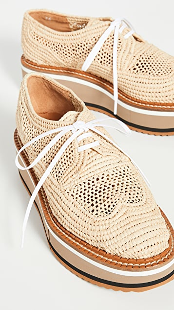 Clergerie Ботинки на шнурках Birdie
