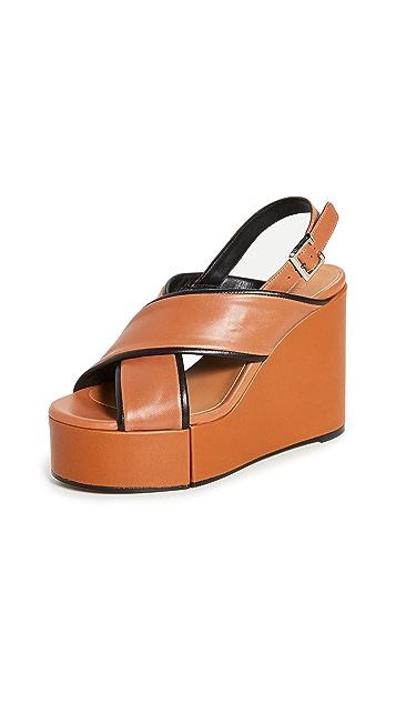 Clergerie Mirane Wedge Sandals