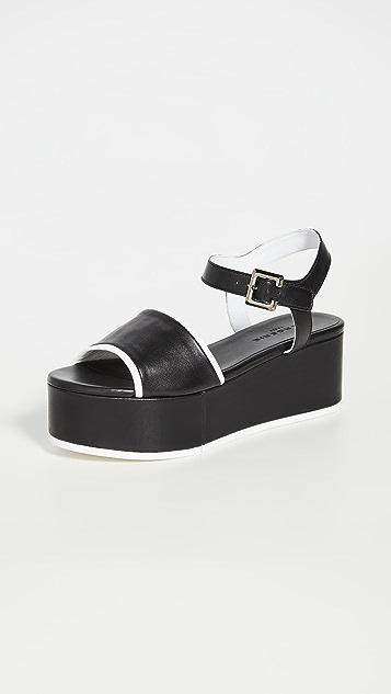 Clergerie Mori 厚底凉鞋