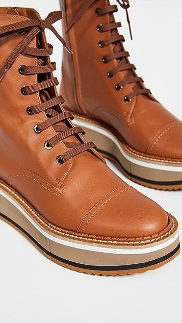 Clergerie British 4 平底踝靴