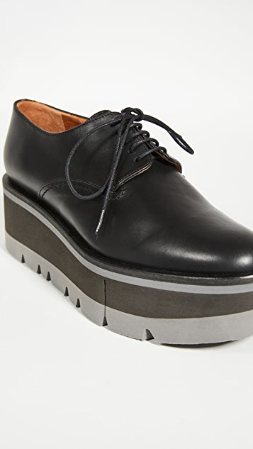 Clergerie Bradie 厚底牛津鞋