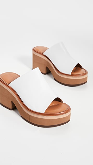 Clergerie Cessy Mule Sandals