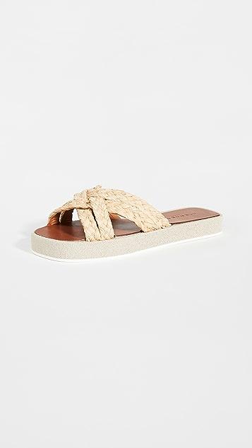 Clergerie Gael Slide Sandals
