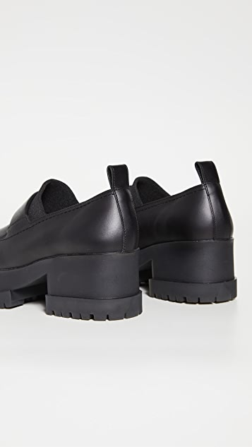 Clergerie Waelly Heeled Loafers