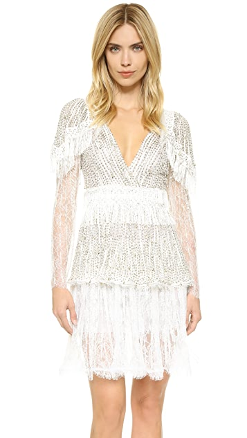Rodarte Hand Beaded Lace Dress