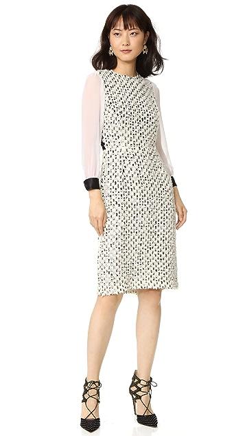 Rodarte Tulle & Sequin Dress
