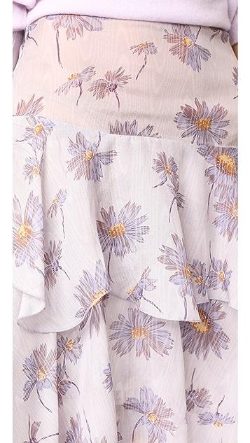 Rodarte Three-Tiered Skirt