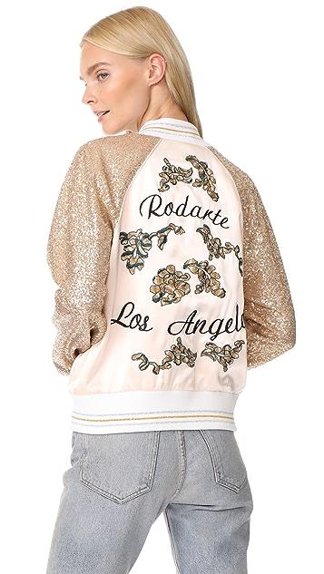 Rodarte Rodarte Los Angeles Sequin Bomber Jacket