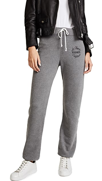 Rodarte Radarte Emblem Sweatpants
