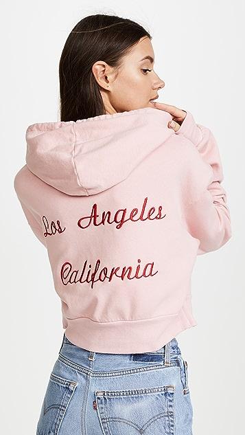 Rodarte Radarte Los Angeles Cropped Hoodie