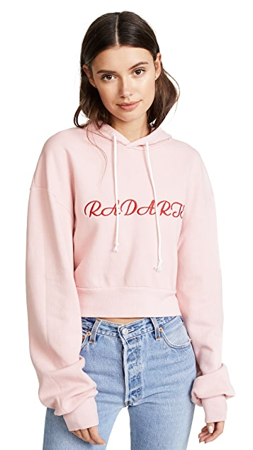 Rodarte Radarte Los Angeles Cropped Hoodie