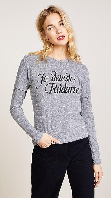 Rodarte Love / Hate Rodarte Tee