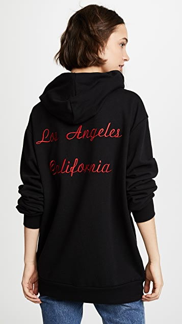 Rodarte Los Angeles Oversized Hoodie