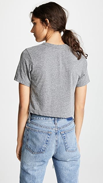 Rodarte Rohearte 刺绣短款 T 恤