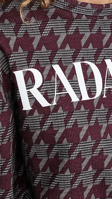 Rodarte RADARTE (RAD) 独家款短款圆领运动衫