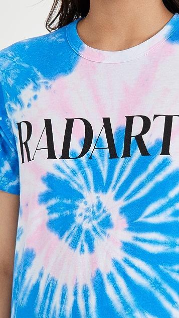 Rodarte Rad Radarte P/B 扎染 T 恤式衬衣