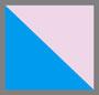 粉色/蓝色