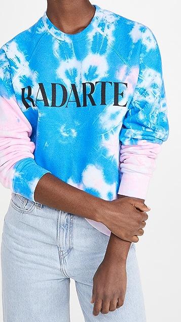 Rodarte Radarte Tie Dye Sweatshirt