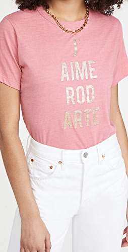 Rodarte - Flamingo Pink J'aime Rodarte T-Shirt