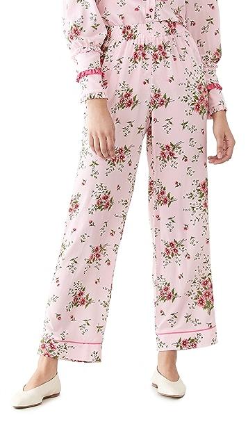 Rodarte Printed Pants