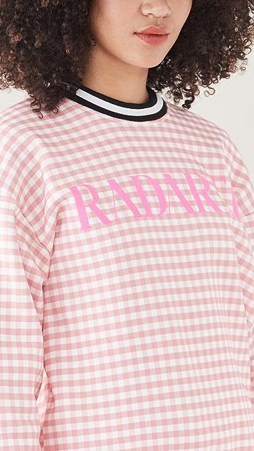 Rodarte RADARTE (RAD) 粉色格子运动衫