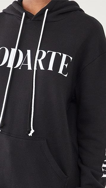 Rodarte 徽标连帽上衣