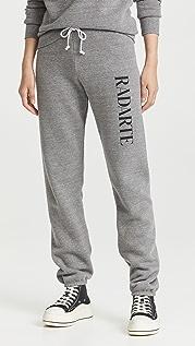 Rodarte Sweatpants with Classic Radarte Logo