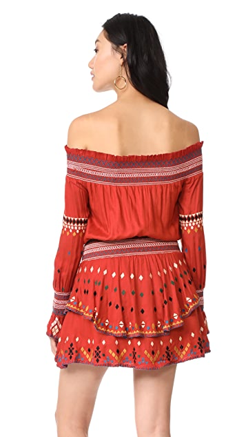 Red Carter Calla Dress