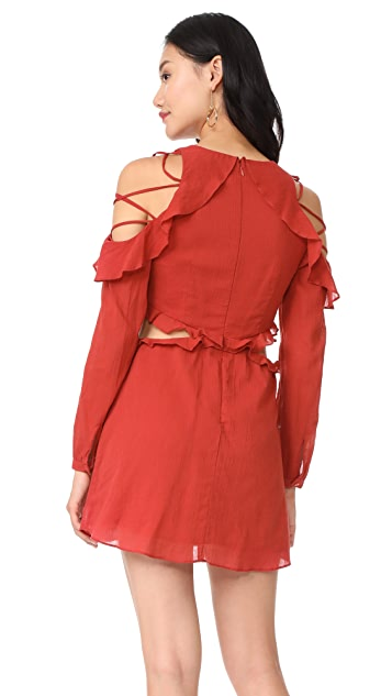 Red Carter Rhiannon Dress
