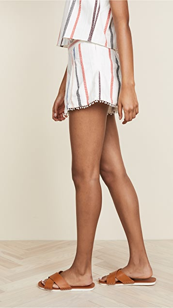 Red Carter Romy Shorts