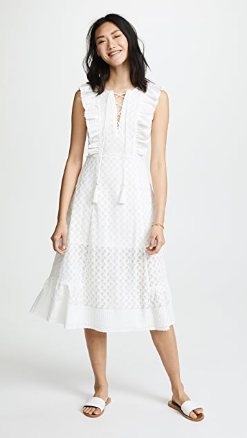 Red Carter Reghan Dress - Ivory