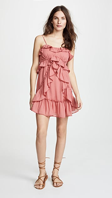 Red Carter Lachlan Dress
