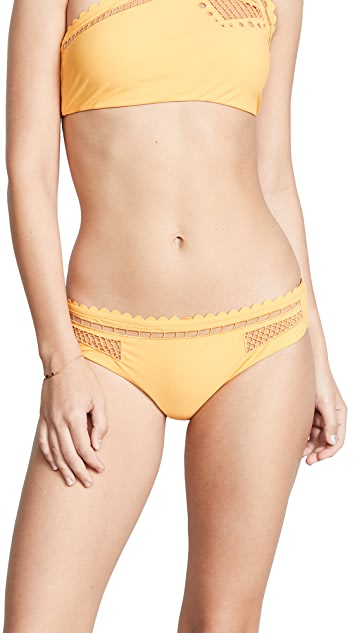 Red Carter Peek A Boo Hipster Bottoms