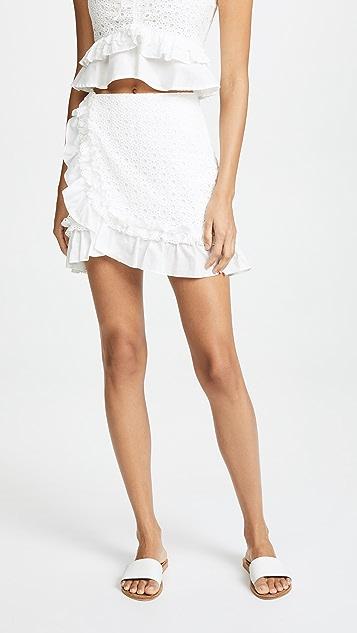 Red Carter Mai Skirt