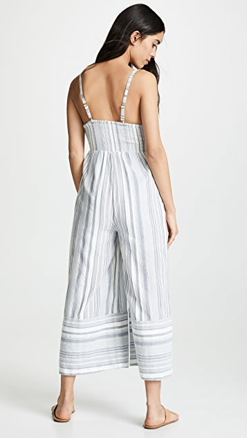 Red Carter Kimberly Jumpsuit