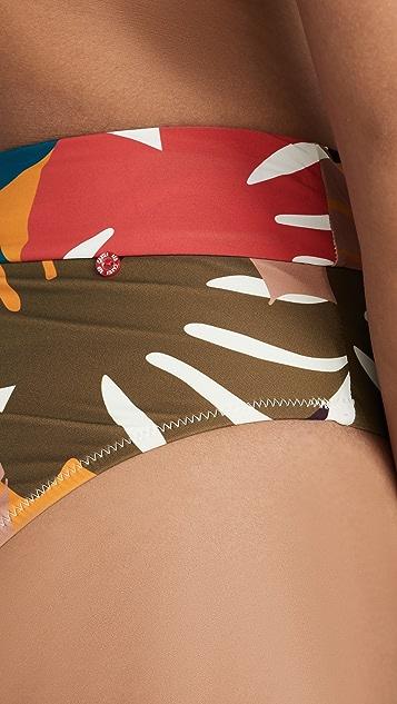 Red Carter Плавки бикини с высокой талией Isla