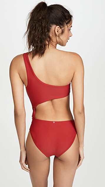 Red Carter Peri One Piece Swimsuit
