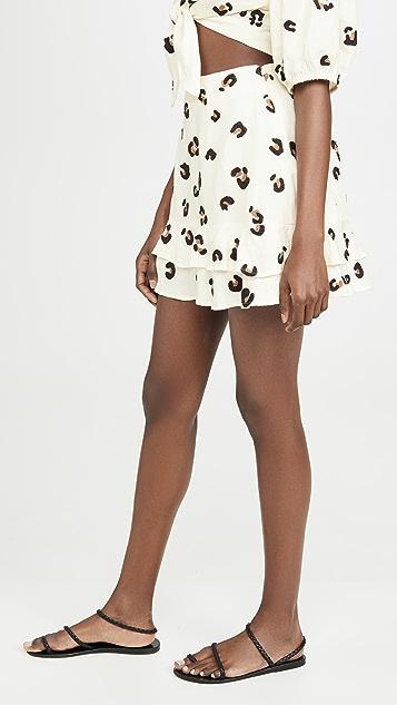 Red Carter Becky Skirt