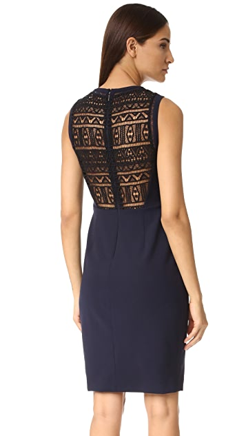 Rebecca Taylor Shift Dress with Lace