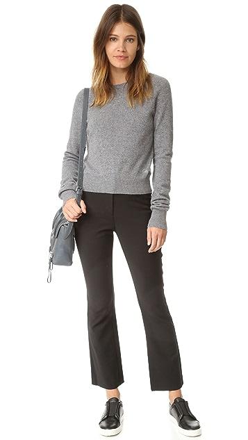 Rebecca Taylor Slim Flare Suit Pants