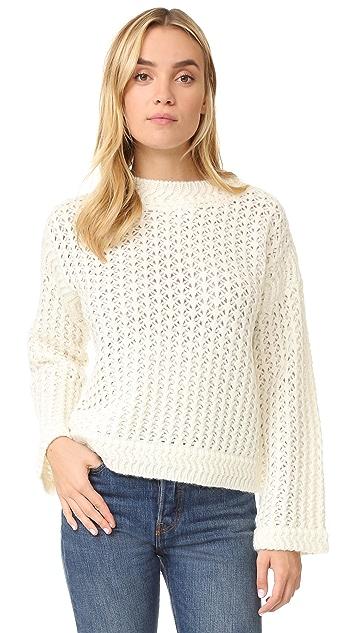 Rebecca Taylor Soft Spun Pullover
