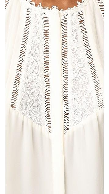 Rebecca Taylor Long Sleeve Top