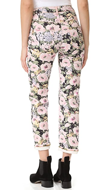 Rebecca Taylor High Rise Lavinia Rose Jeans