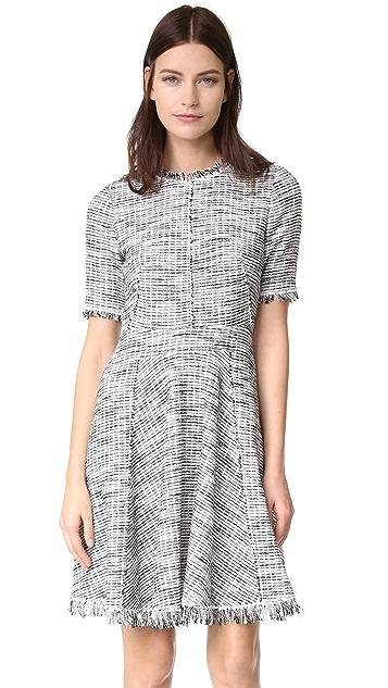 Rebecca Taylor Boucle Tweed Dress