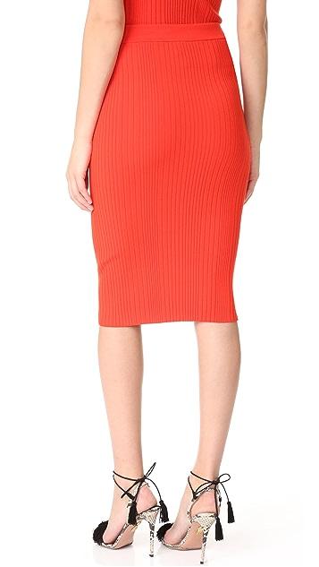 Rebecca Taylor Ribbed Skirt
